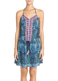Nanette Lepore 'Indigo Paisley' Cover-Up Dress