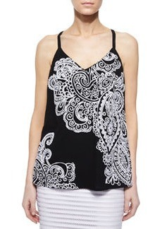 On the Edge Paisley Tank   On the Edge Paisley Tank