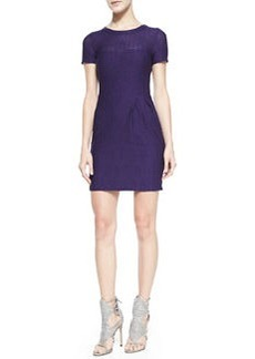 Short-Sleeve Cliff-Hanger Dress   Short-Sleeve Cliff-Hanger Dress