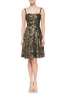 Spotlight Metallic Jacquard Dress   Spotlight Metallic Jacquard Dress