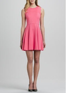 Superslide Fit-and-Flare Dress, Tulip   Superslide Fit-and-Flare Dress, Tulip