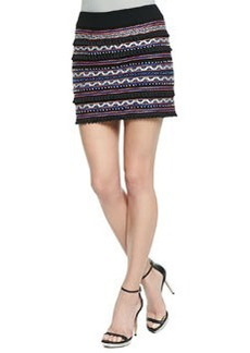 Vital Spark Embroidered Tassel Skirt   Vital Spark Embroidered Tassel Skirt