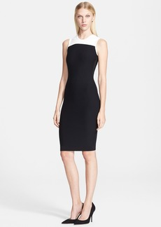 Narciso Rodriguez Bicolor Knit Dress
