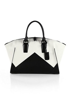 Narciso Rodriguez Bicolor Slouchy Tote