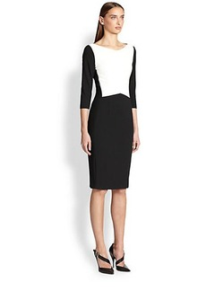 Narciso Rodriguez Blocked Pencil Dress
