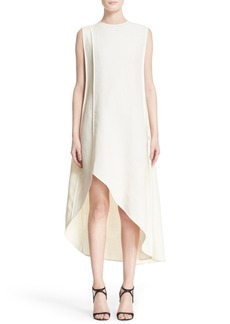 Narciso Rodriguez Bonded Linen & Silk Dress