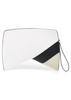 Narciso Rodriguez 'Boomerang' Leather Clutch
