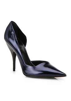 Narciso Rodriguez Carolyn Leather d'Orsay Pumps