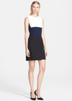 Narciso Rodriguez Colorblock Dress
