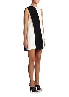 Narciso Rodriguez Contrast Silk Shift