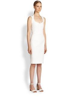 Narciso Rodriguez Cotton Piqué Cutout Dress