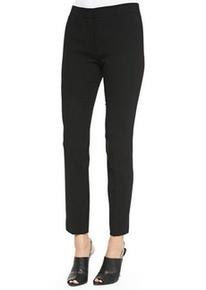 Narciso Rodriguez Cropped Wool Crepe Pants