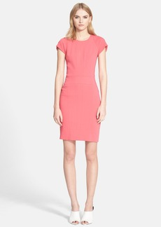 Narciso Rodriguez Cutout Detail Jersey Sheath Dress