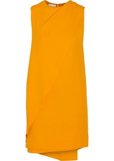 Narciso Rodriguez Draped crepe mini dress