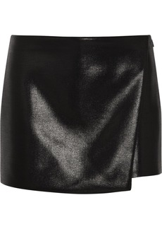 Narciso Rodriguez Glossed-wool shorts