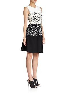 Narciso Rodriguez Jacquard Paneled Dress