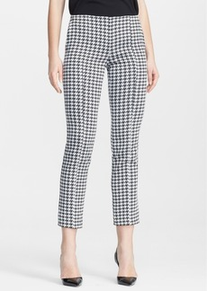 Narciso Rodriguez Jacquard Slim Ankle Pants