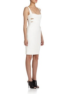 Narciso Rodriguez Jersey Cutout Bodycon Dress