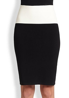 Narciso Rodriguez Milano Knit Pencil Skirt