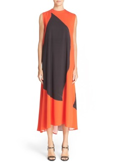 Narciso Rodriguez Mineral Dye Georgette Dress