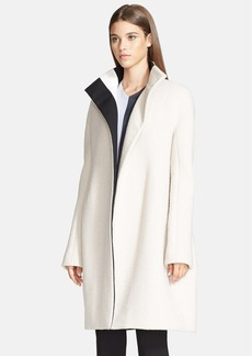 Narciso Rodriguez Oversized Double Face Wool Blend Coat.