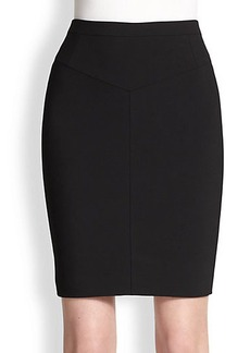 Narciso Rodriguez Paneled Pencil Skirt