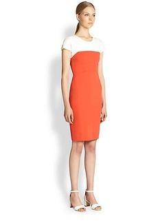 Narciso Rodriguez Pebble Crepe Dress