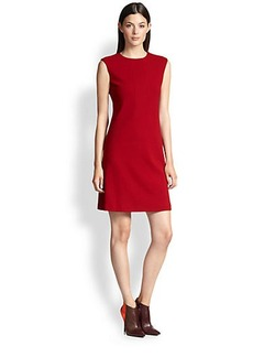 Narciso Rodriguez Pebble Jersey Shift Dress