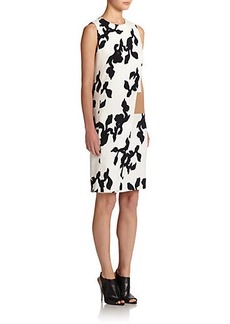 Narciso Rodriguez Printed Scuba Shift