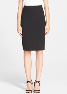 Narciso Rodriguez Scuba Knit Pencil Skirt