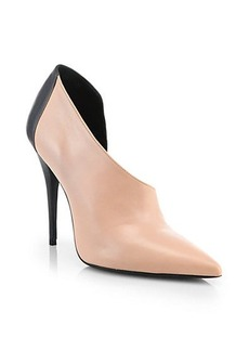 Narciso Rodriguez Simone Leather d'Orsay Booties