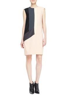 Narciso Rodriguez Sleeveless Colorblock Dress