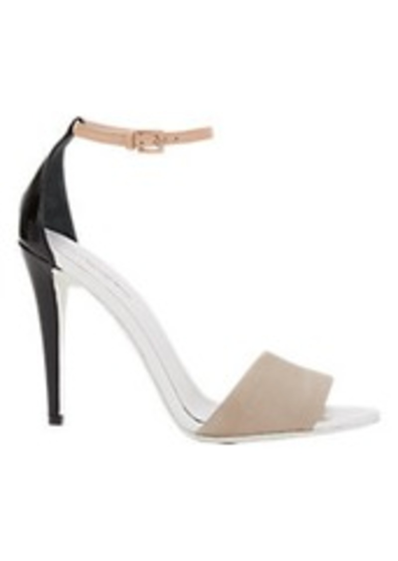 Narciso Rodriguez Snakeskin Ankle-Strap Sandal