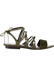 Narciso Rodriguez Strappy Flat Sandals