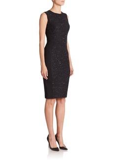 Narciso Rodriguez Tweed-Detail Dress