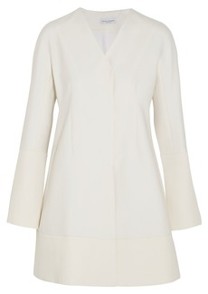 Narciso Rodriguez Wool and silk-blend mini dress