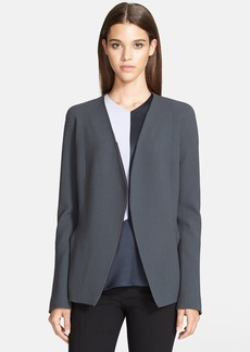 Narciso Rodriguez Wool Crepe Jacket