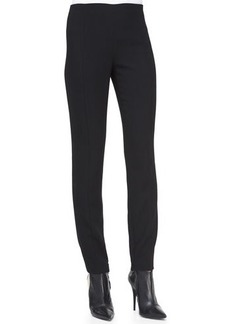 Narciso Rodriguez Wool Crepe Pants, Black