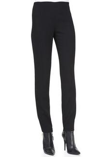 Narciso Rodriguez Wool Crepe Pants, Black