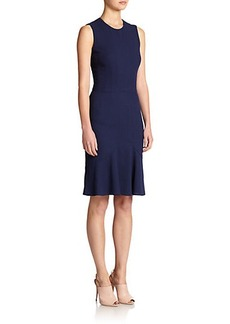 Narciso Rodriguez Wool Flounce Dress