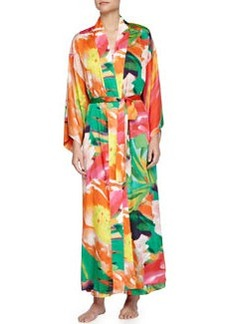 Garbo Printed Long Robe, Multicolor   Garbo Printed Long Robe, Multicolor