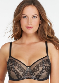 Natori + True Decadence Embroidered Bra