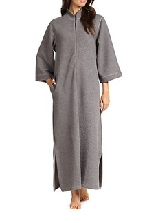Natori Beijing Quilted Caftan-Style Robe