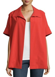 Natori Bistretch Short-Sleeve Jacket