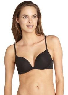 Natori black 'Sienna' contour push-up underwire bra
