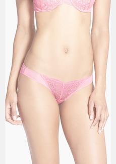 Natori 'Blossom' Lace Inset Bikini