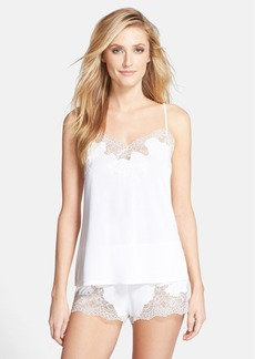 Natori 'Boudoir' Lace Trim Shorts Pajamas