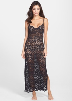 Natori 'Boudoir' Long Lace Gown