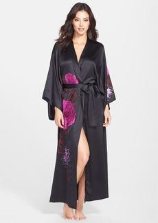 Natori 'Charm' Embroidered Long Robe