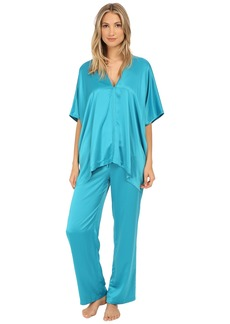 Natori Charmeuse Tunic Pajama Set